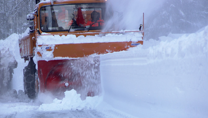 Schneeräumung, Winterdienst