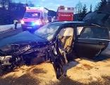 Verkehrsunfall mit sieben Fahrzeugen Außerfern