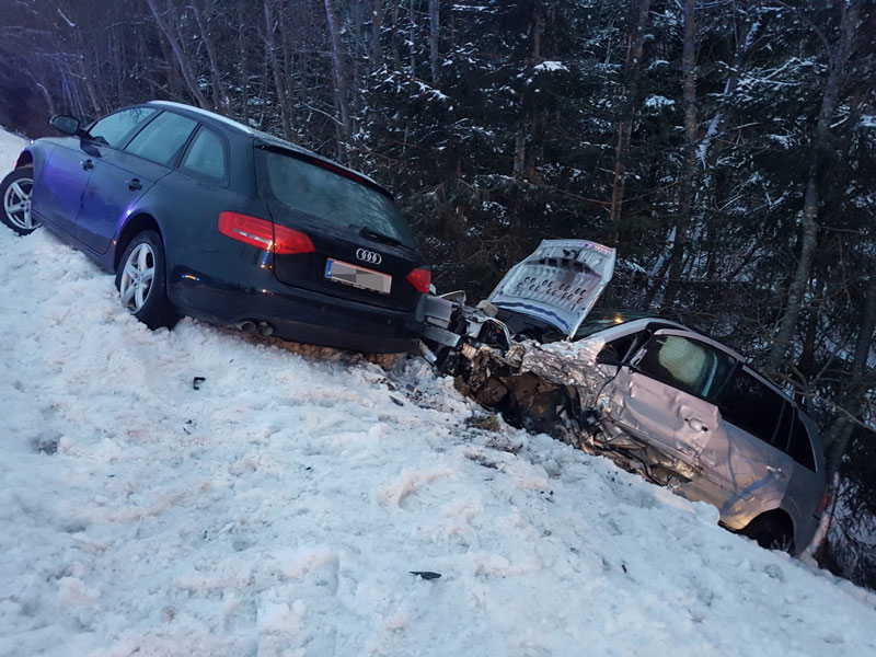 Totalschaden Verkehrsunfall
