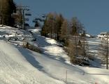 Nassfeld Skifahren Piste Winter