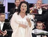 Anna Netrebko bei einem Konzert in Schönbrunn im Vorjahr