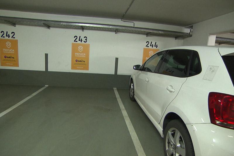Parken Freie Plätze