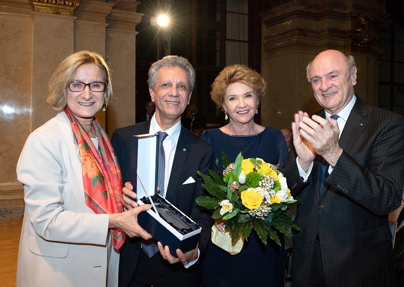 Johanna Mikl-Leitner, Bijan Khadem-Missagh, Luise Khadem-Missagh und Erwin Pröll