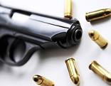 Pistole mit Munition