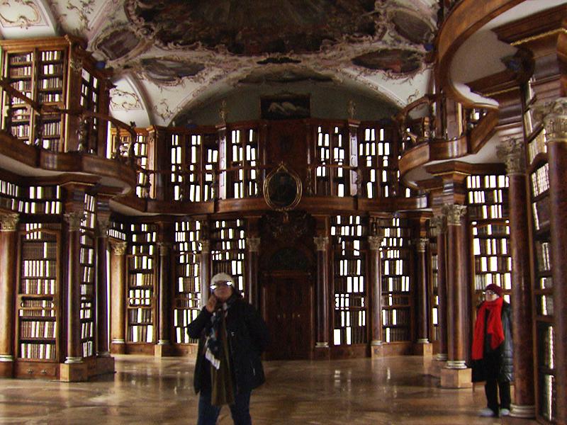Stiftsbibliothek St. Gallen Kunstprojekt