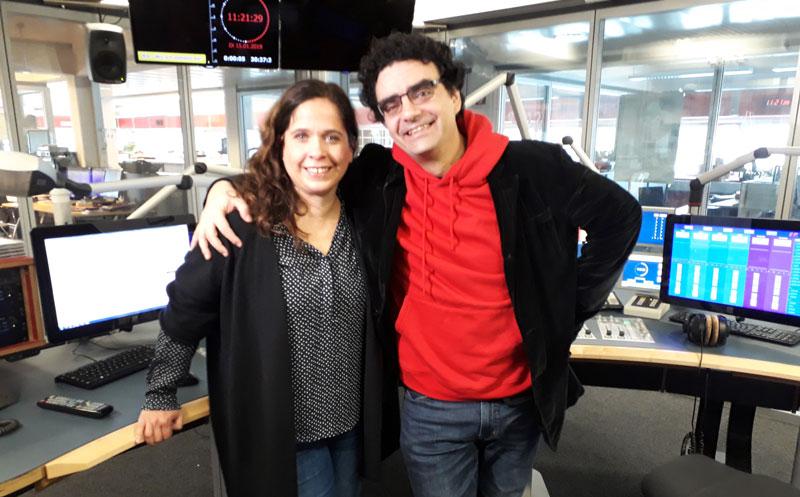 Gabi Kerschbaumer und Rolando Villazon