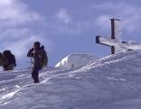Skifahrer am Untersberg