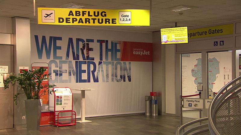 Flughafen Klagenfurt Wartehalle
