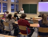 Schüler in Klasse im Werkschulheim Felbertal