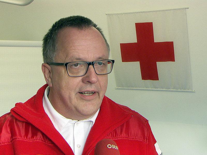 Stellvertretender Landesgeschäftsleiter des Wiener Roten Kreuz Robert Horacek: