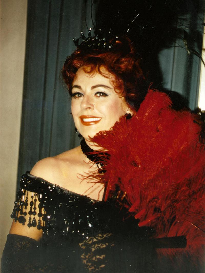 Sängerin Wilma Lipp