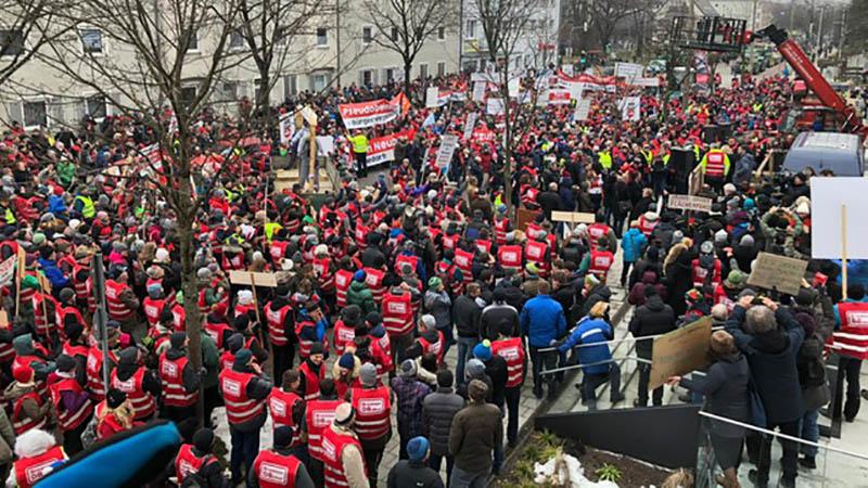 Protestkundgebung
