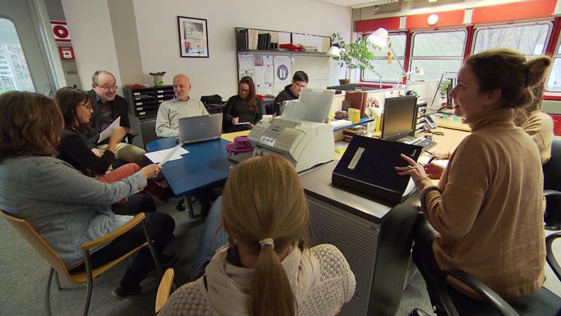 40 ljet Hrvatska redakcija ORF-a - redakcijska sjednica