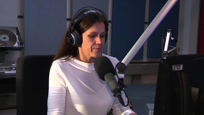 40 ljet Hrvatska redakcija ORF-a - Marijana Palatin na radiju