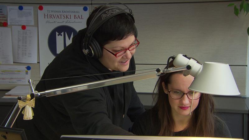 40 ljet Hrvatska redakcija ORF-a - Judith Frank i Julija Strommer