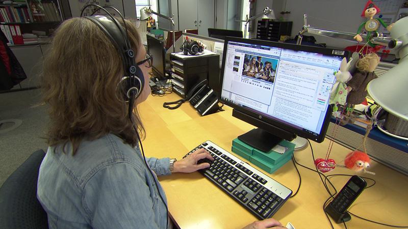 40 ljet Hrvatska redakcija ORF-a - Andrea Vuketić pred digasom