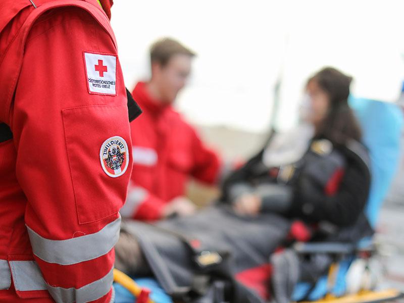 Zivildiener Rotes Kreuz