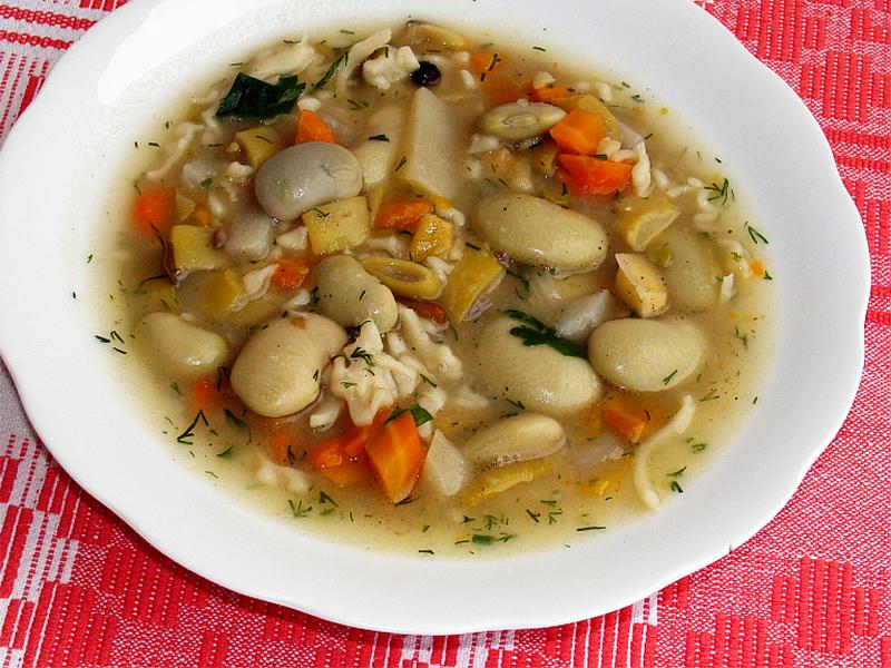 Polnische Bohnensuppe