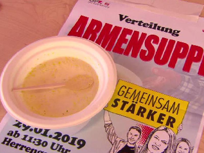 Sozialwirtschafts-KV: Protestaktion in Graz - steiermark ORF at
