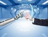 Mensch und Roboter