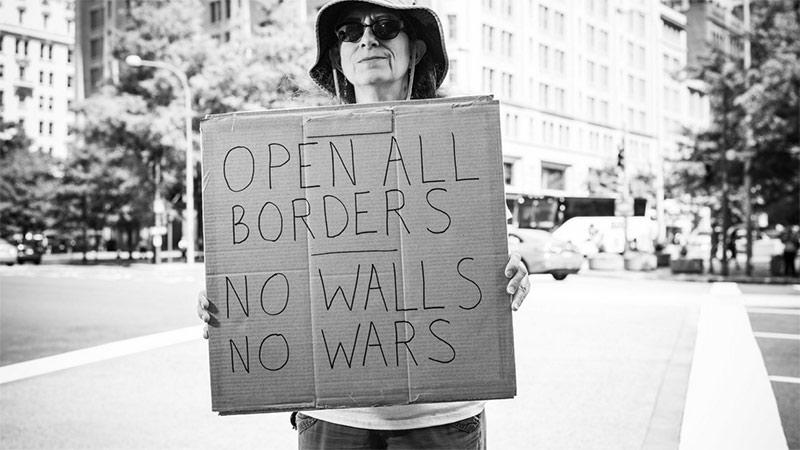 Arnold Pöschl USA Protesters  NUR FÜR DIESE STORY VERWENDEN