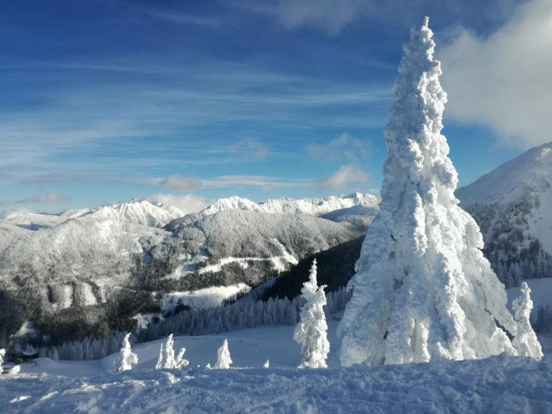 Winterlandschaft, Schnee, Berge