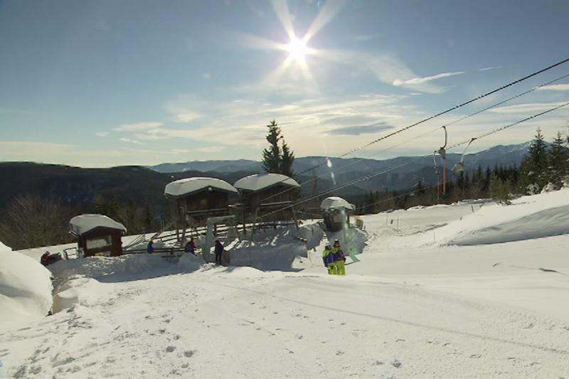 Skigebiete Skifahren Winter Tourismus Unterberg