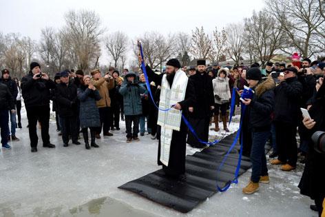vízszentelés Zicksee ortodox