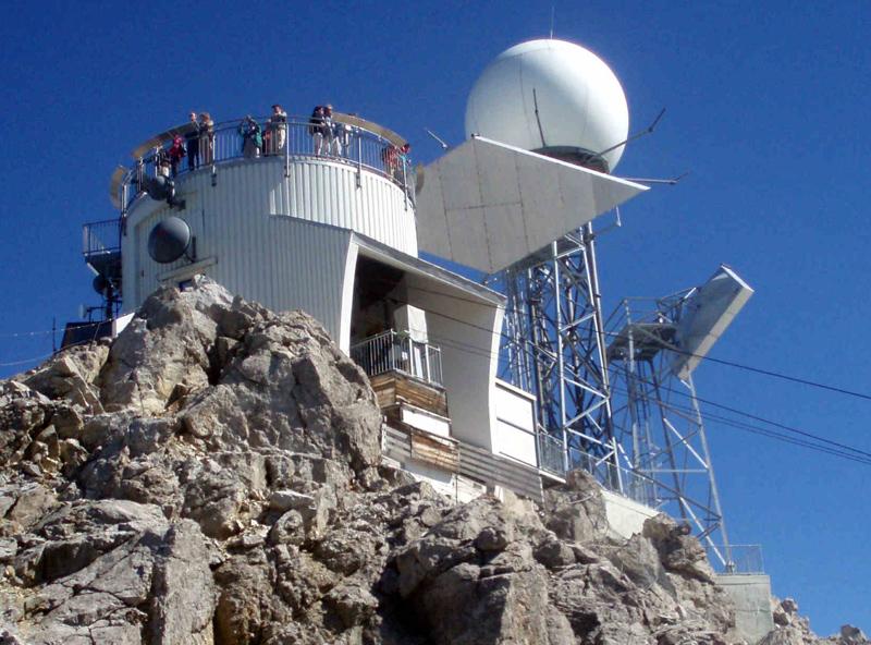 Gipfel der Valluga