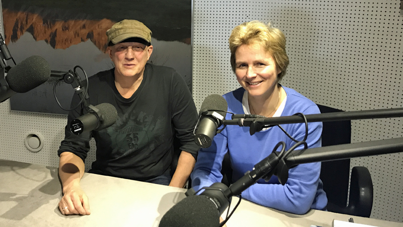 Melanie Wolfers und Rainer Perle