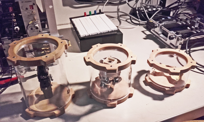 Quantenphysik Apparatur