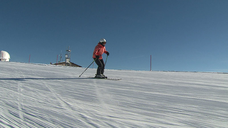 Älteste Skifahrerin Maria Albl Gerlitzen 94