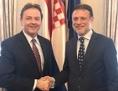 Niki Berlaković i Gordan Jandroković