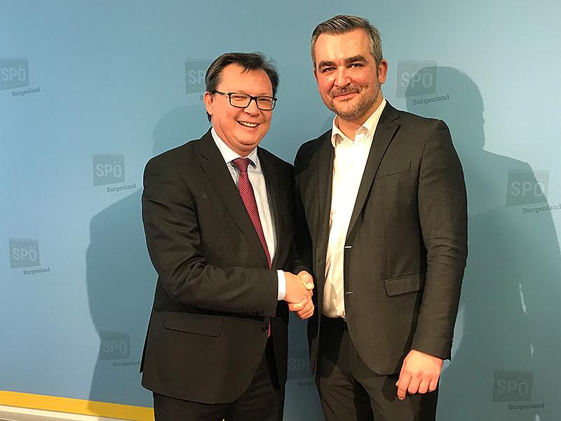 Norbert Darabos und Heinrich Dorner