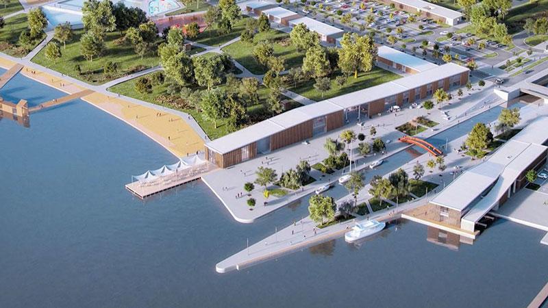 Hafenprojekt Fertörakos