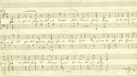 Haydn kézirat