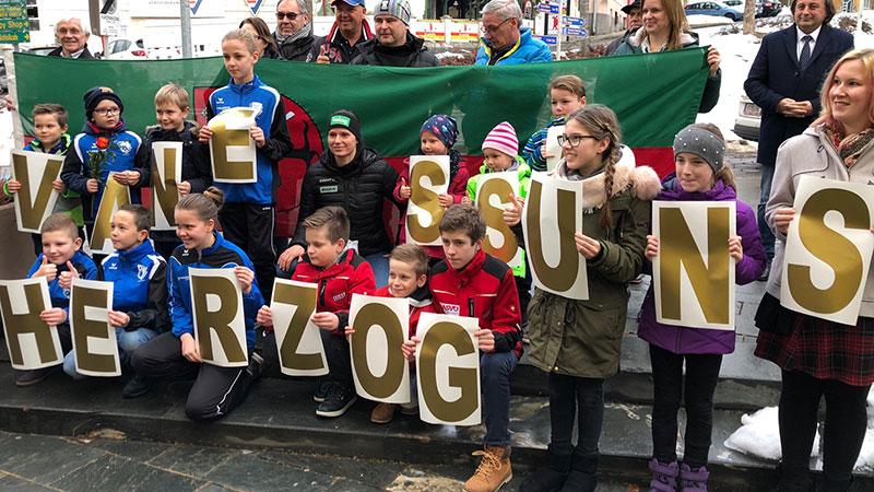 Vanessa Herzog Empfang Ferlach