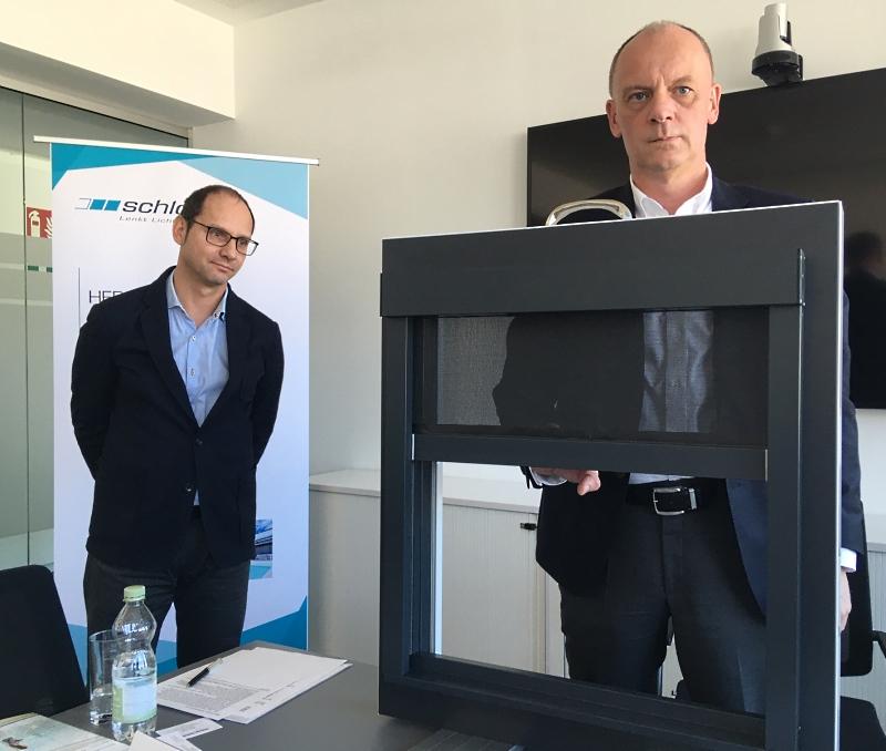 Schlotterer: Patent auf Blinus-Sonnenschutz-Fenster