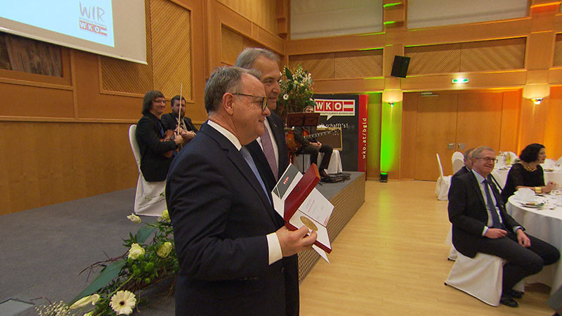 Hans Niessl, Ehrenzeichen , WK