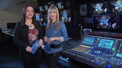 Moderatorinnen Pavlína Woodhams und Mirka Huber