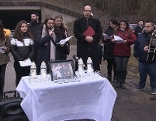 Gedenkfeier Roma-Attentat