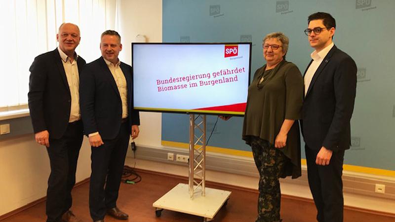 SPÖ-Bundesräte und Christian Dax