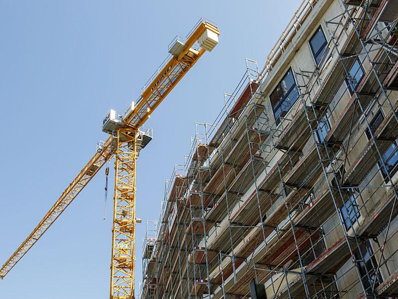 Wohnhaus Bau