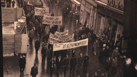Ausstellung Jan Palach 69