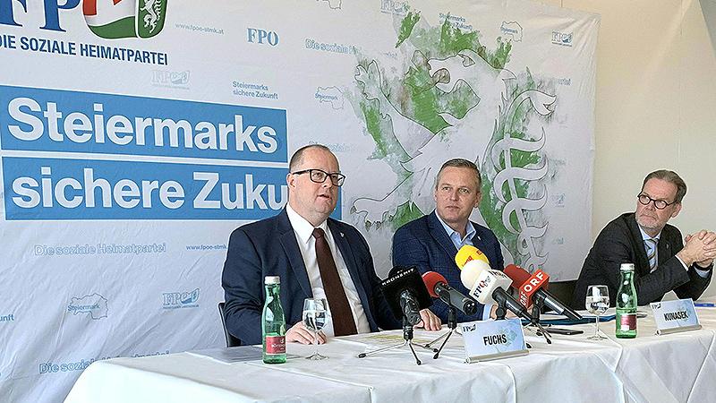 Hubert Fuchs, Mario Kunasek, Gerald Deutschmann