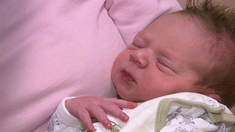Baby Mason Weilguni Geburt Rettungswagen