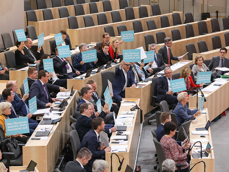 Ökostromgesetz vor Abstimmung im BR