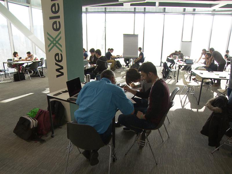 """""""Social Hackathon"""" in Wien: Ein Programmiermarathon für neuen Job"""