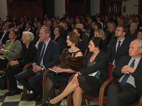 Kulturni praznik Prešernov dan proslava Gradec konservatorij Škrilec veleposlan Lackner