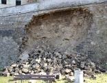 Stadtmauer Braunau ausgebrochen